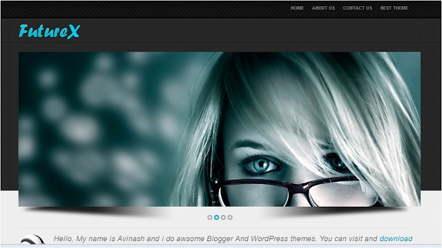 Advanced Professional Blogger Template