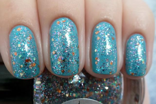 Shimmer polish Jennifer & Anny Midtown skyline
