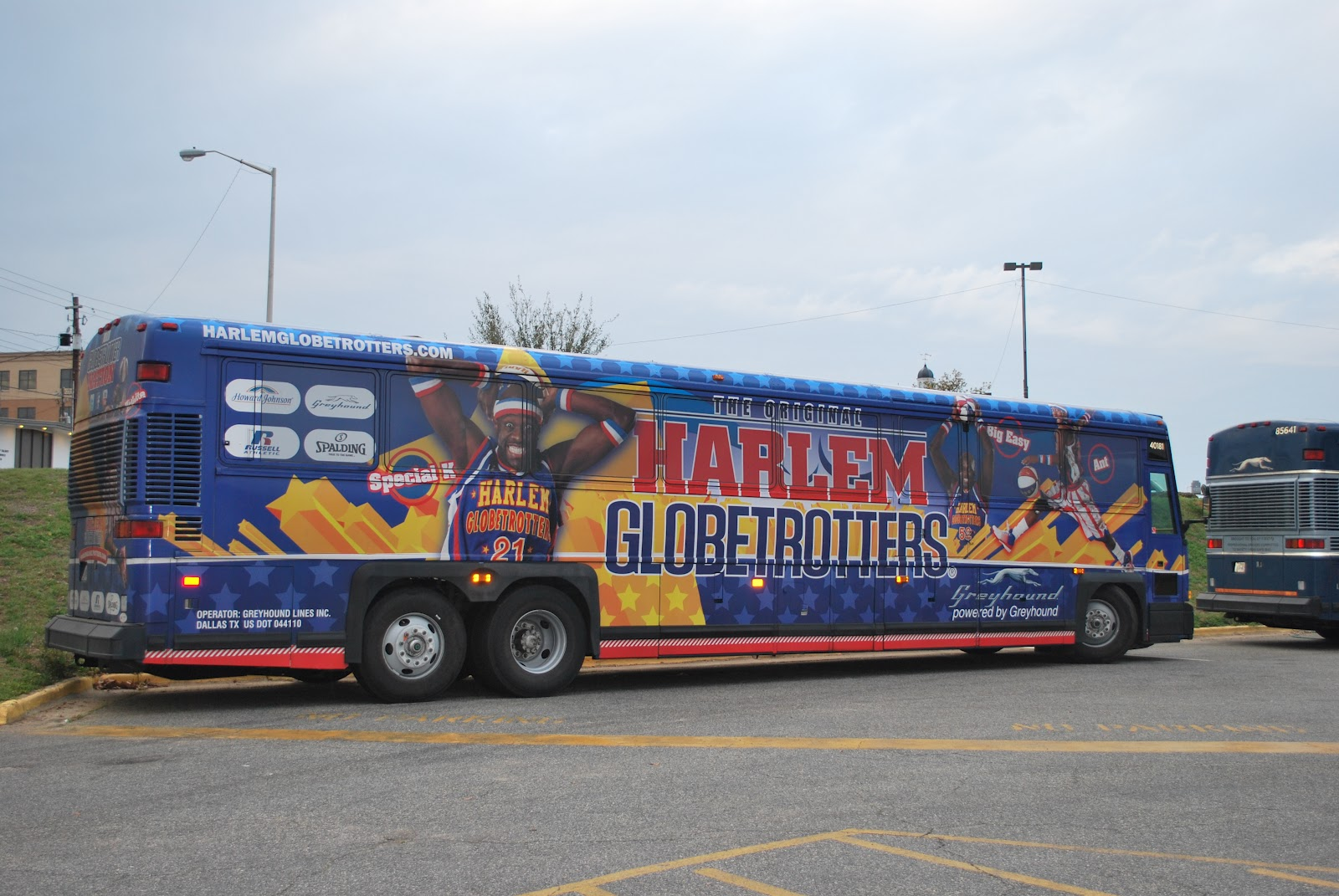 THE Harlem Globetrotters Bus In Albany Georgia