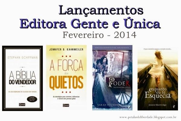 lançamentos, Editora Gente, Única Editora, fevereiro, conto de fadas, encantadas