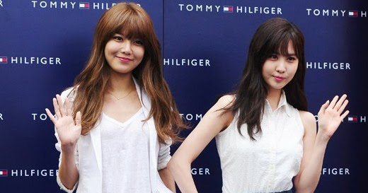 Sooyoung and Seohyun Attend Tommy Hilfiger 'Surf Shack Capsule Collection' Launching Event