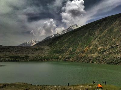 Lulusar lake
