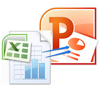 excel into powerpoint logo