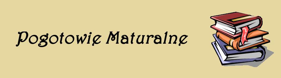 Pogotowie Maturalne