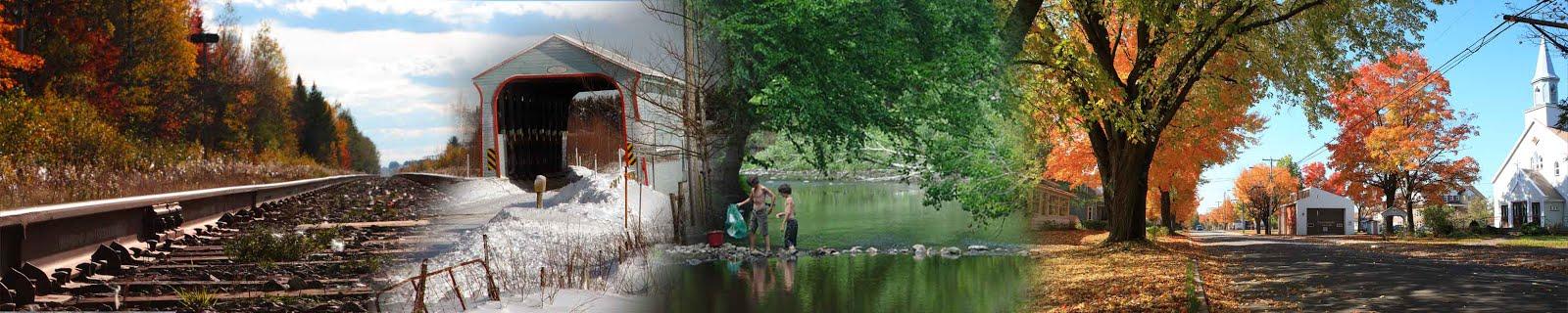 Notre municipalité en quelques images. Photos et montage: Anita Rodrigue