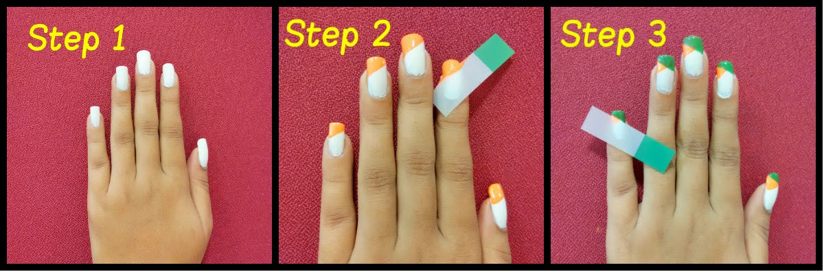 Independence day nail art prinsesfo Image collections