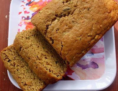 Zucchini Flax Bread
