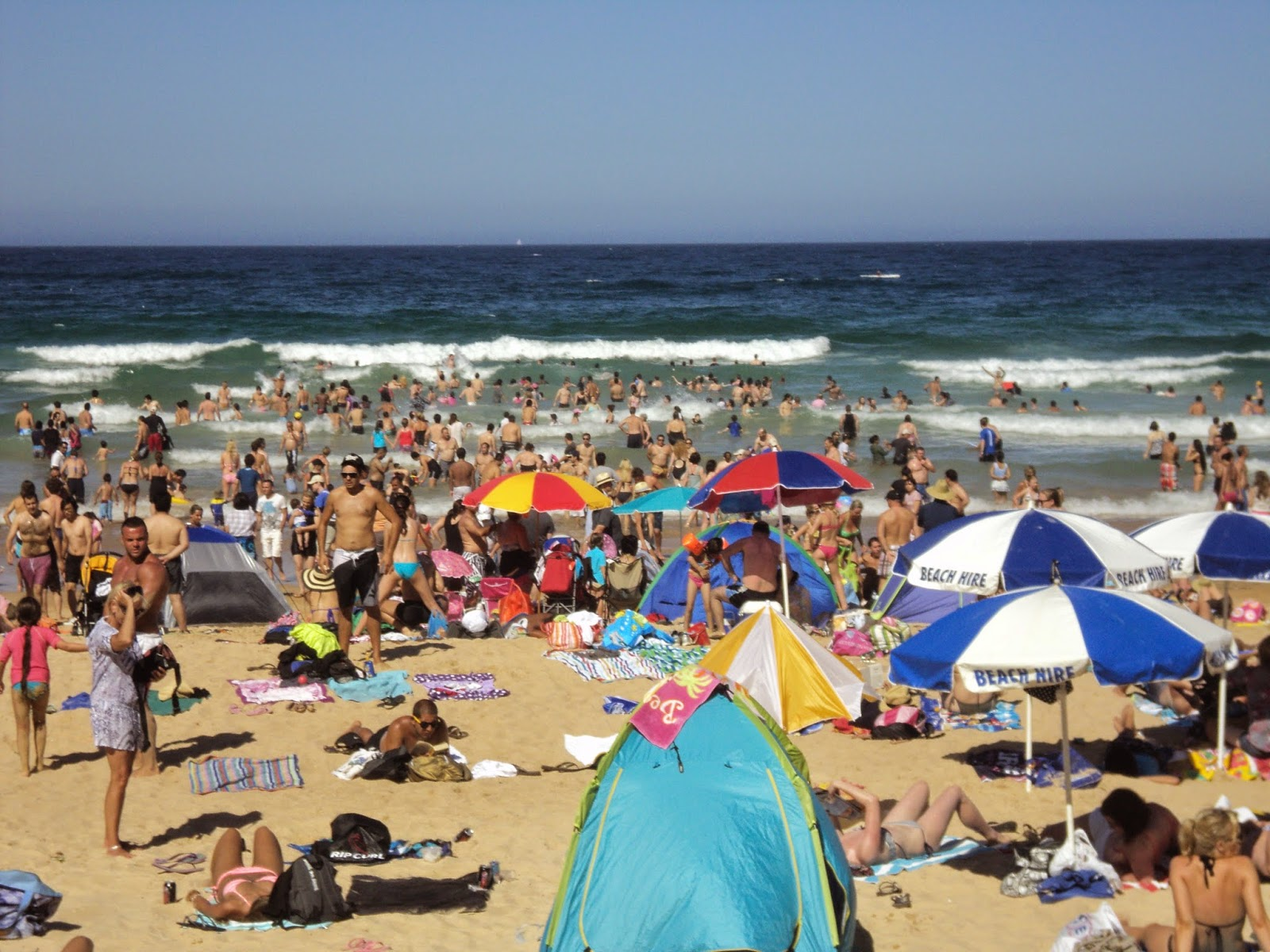 Manly Beach, Sydney, New South Wales (NSW), Australia - photo by Katie @ Second-Hand Hedgehog travel blog