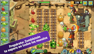 Plants vs. Zombies 2 v4.3.1 Mod Apk (Unlimited Coins & Gems)