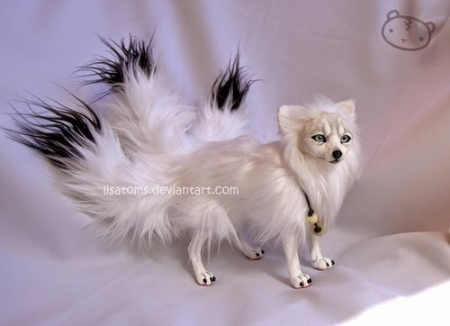 22-Japanese-Kitsune-Lisa-Toms-Maker-of-Mythical-Creatures-and-Pet-Dolls-www-designstack-co