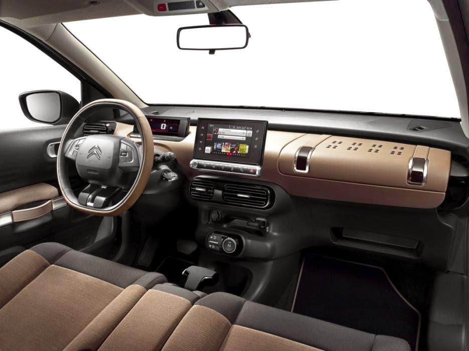 Interior del nuevo Citroen C4 Cactus