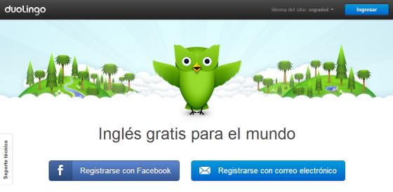 Duolingo - Aprende inglés jugando y compitiendo con tus amigos