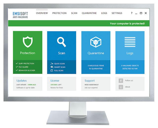 Emsisoft Anti-Malware Full Türkçe 2016 indir