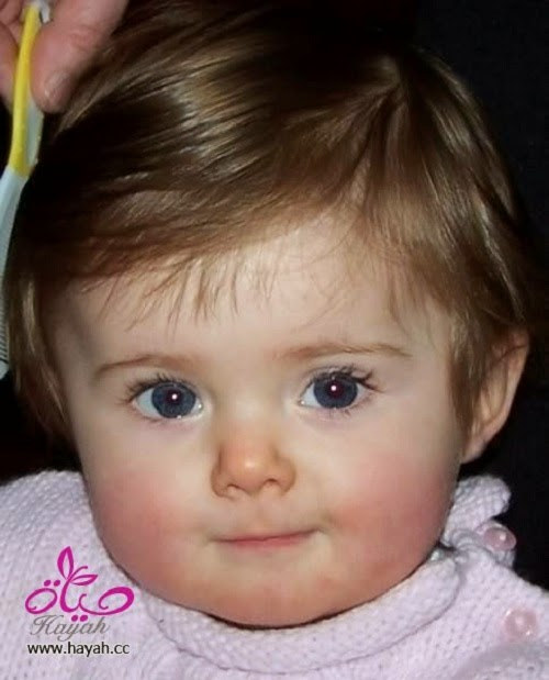 Beau bébé mignon photo