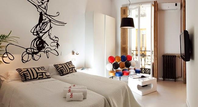 Dormitorio moderno de diseño