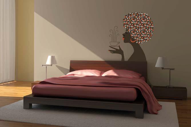 vinilos decorativos para dormitorios