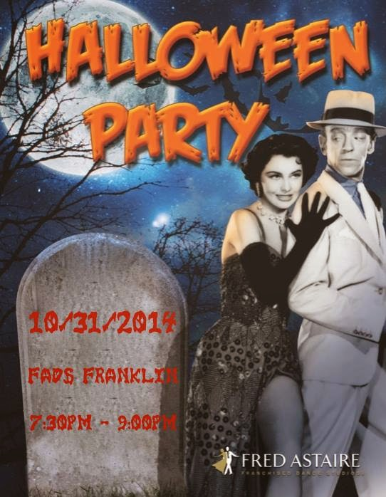 Fred Astaire Dance Studio - Halloween Party