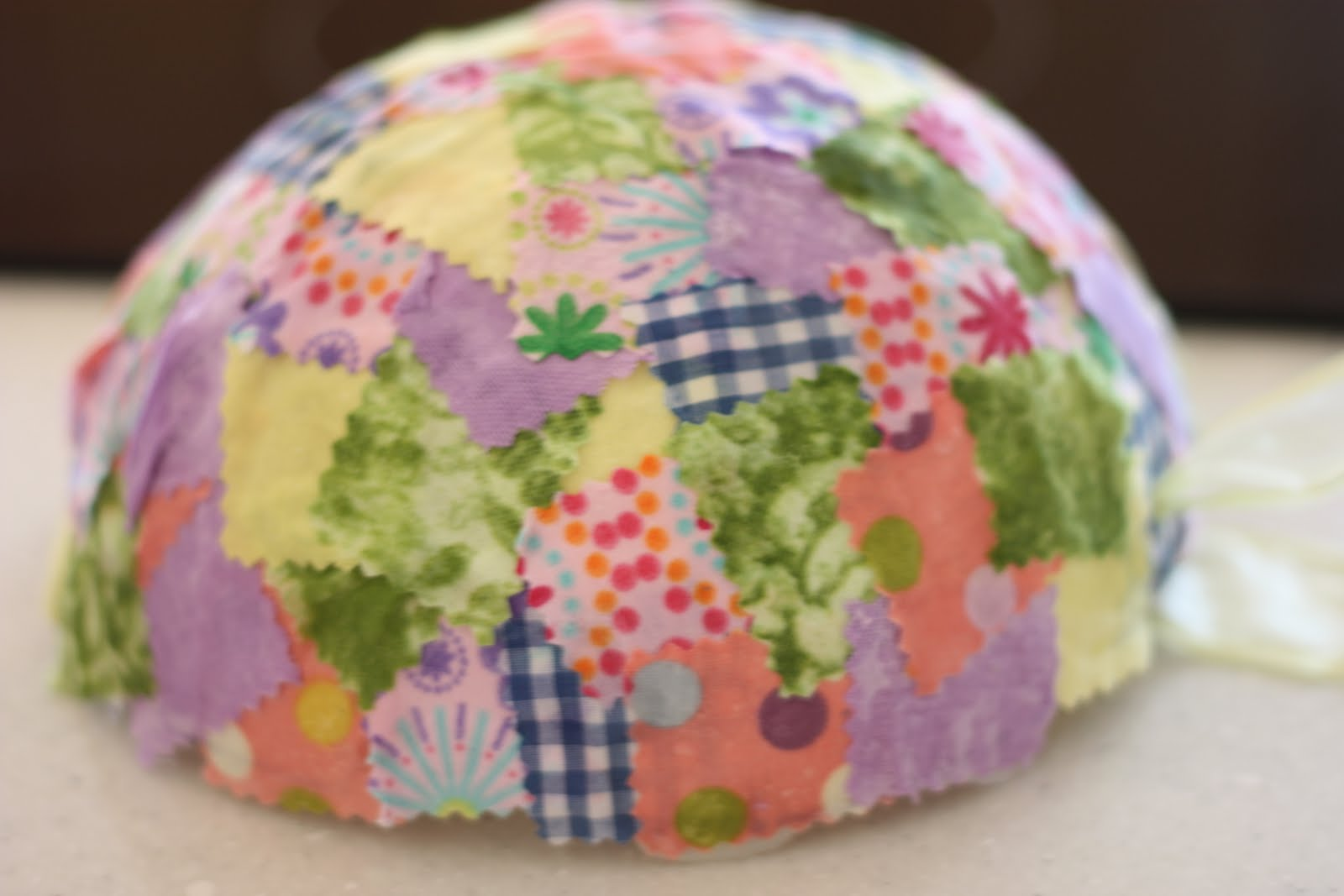 Fabric collage easter baskets i can teach my child i love how this basket kinda looks like an easter egg itselfespecially when turned upside down negle Choice Image