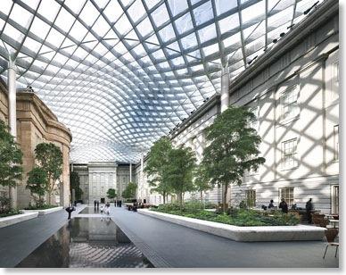 Relances site do maior complexo museol gico do mundo for Cubiertas acristaladas