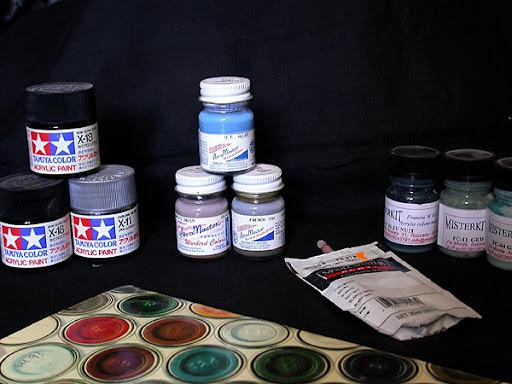 Quelle peinture choisir pour ses maquettes cocardes for Quelle peinture choisir