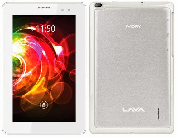 Lava 39 s e tab ivory tablet with dual sim 10 199 inr for Lava ivory s tablet
