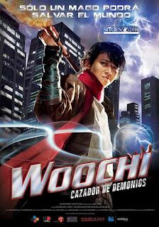 Woochi, Cazador de Demonios Poster