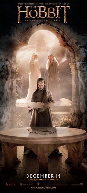 El Hobbit: Un viaje Inesperado - Banner Elron