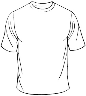White T-shirt Sketch