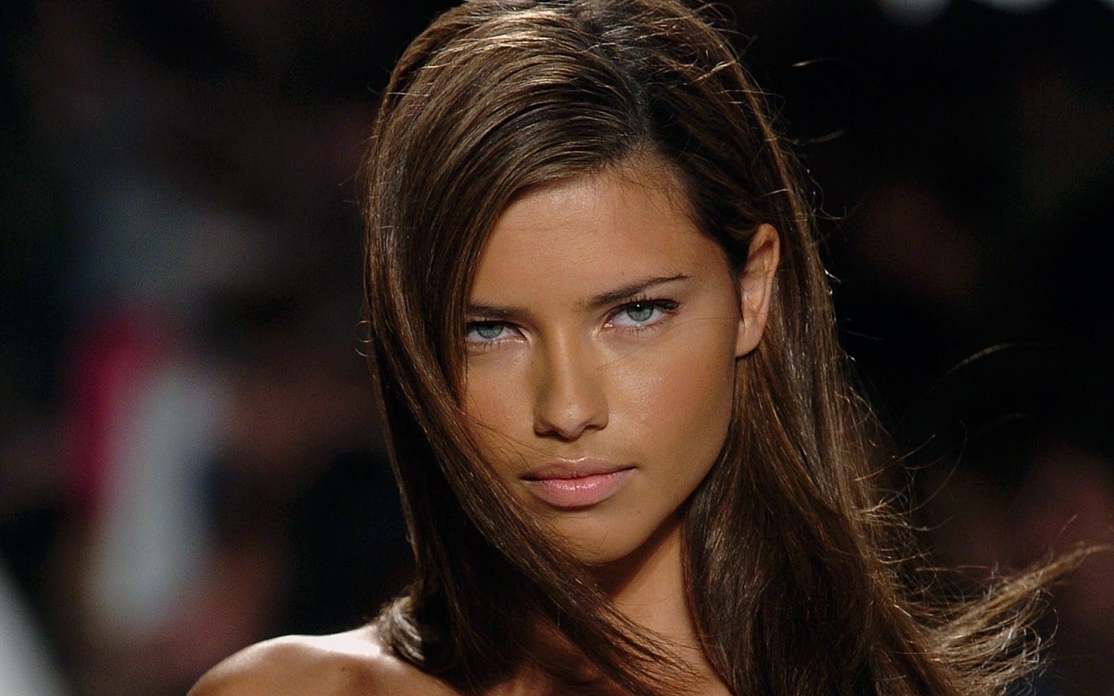 Adriana Lima Face Shoot