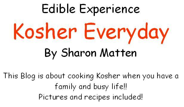 Kosher Everyday by Sharon Matten