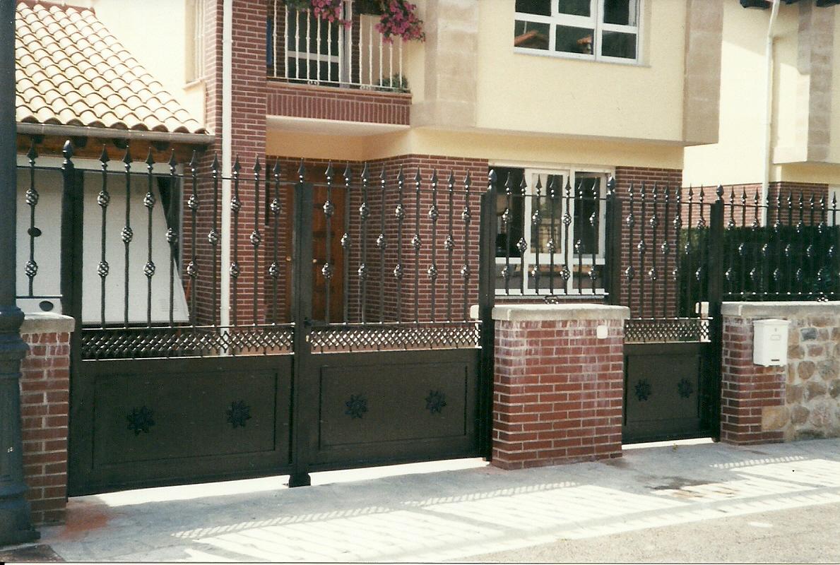 Vallas de jardin cantabria puertas de jard n for Puertas para jardin