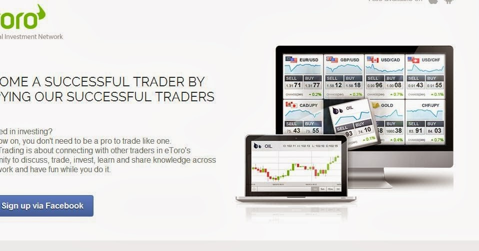 Online stock trading account