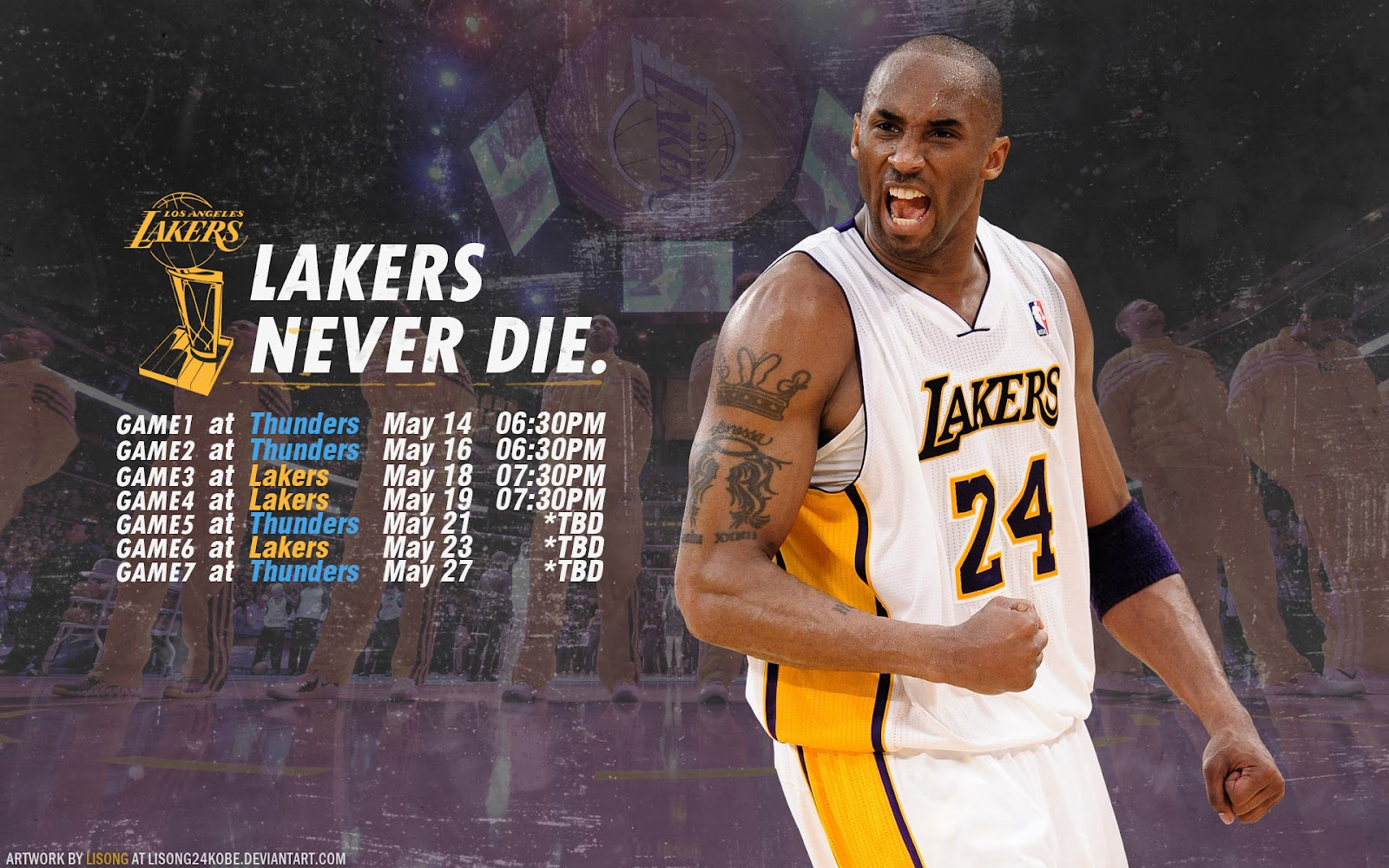 - Lakers-Thunder-2012-NBA-Playoffs-1920x1200-Wallpaper-BasketWallpapers.com-
