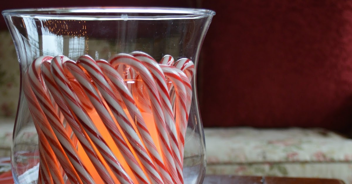 Candy cane hurricane candle exquisitely unremarkable