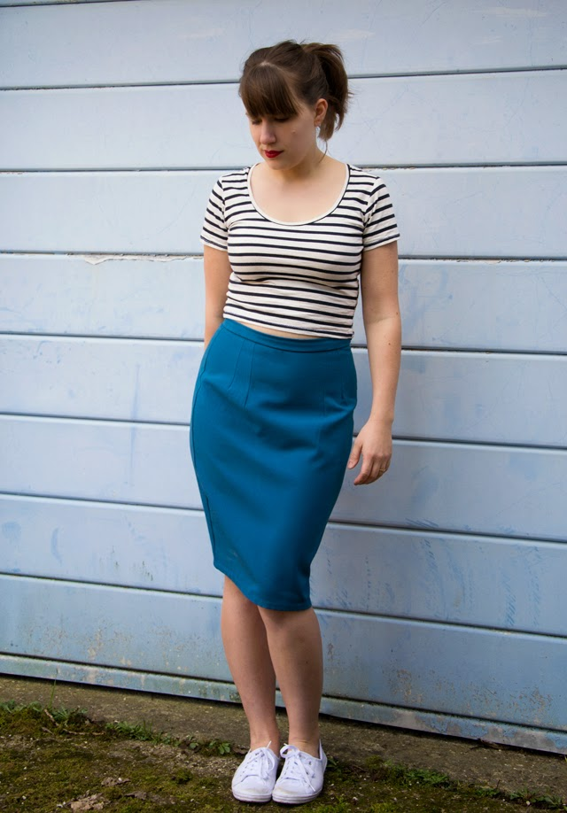 Charlotte Skirt from By hand london and a crop top
