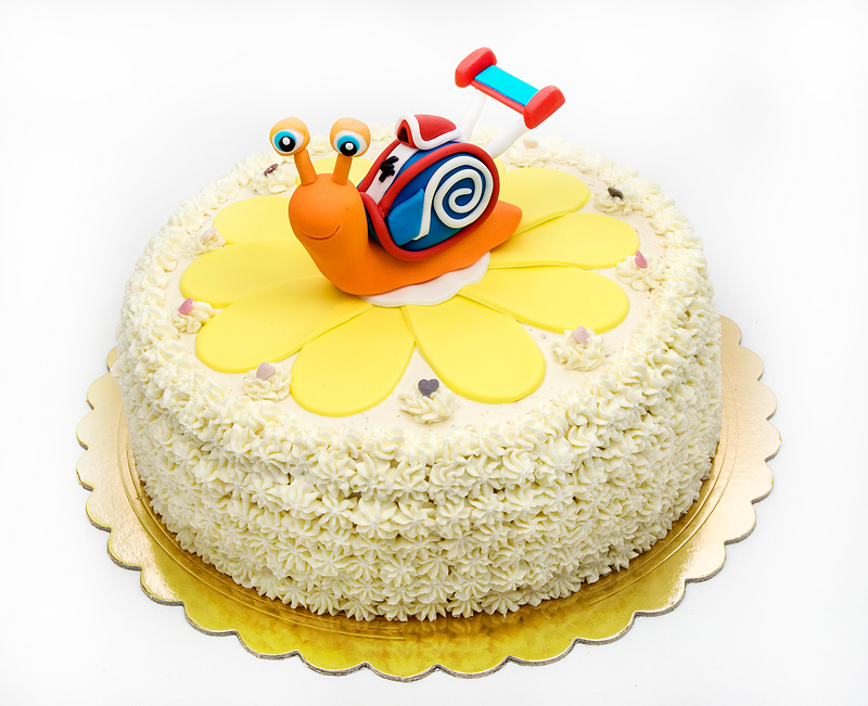 Turbo cake side