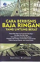 toko buku rahma: buku CARA BERBISNIS BAJA RINGAN YANG UNTUNG BERAT, pengarang agustinus wicaksono, penerbit andi