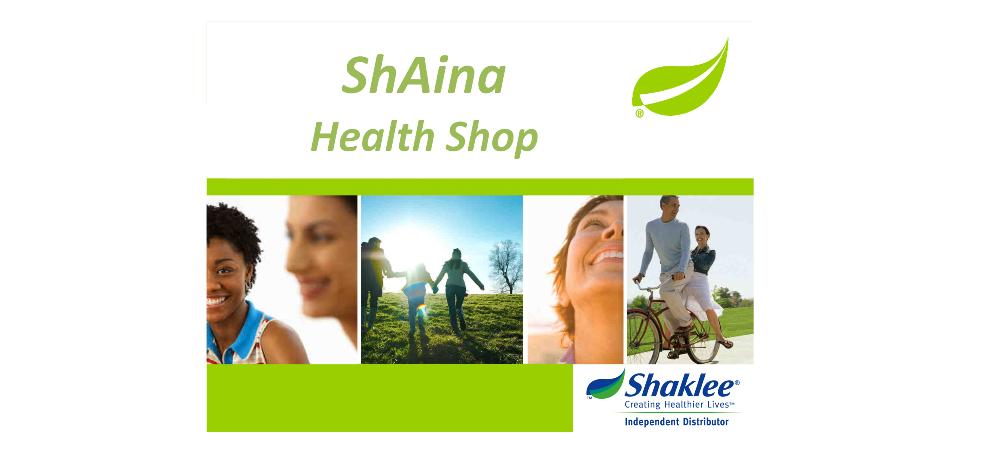 shaina health shop