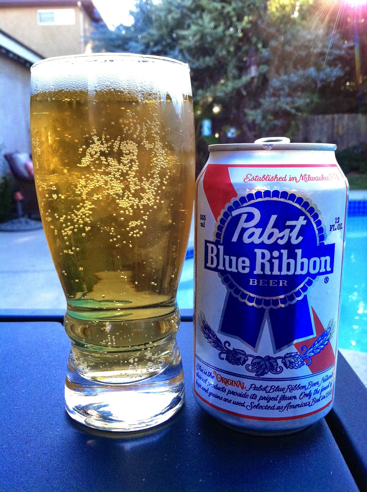 Past Blue Ribbon Beer 1