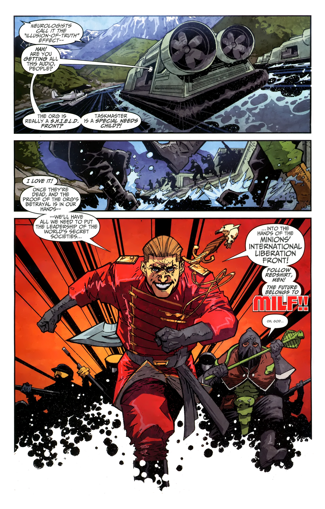 Read online Taskmaster (2010) comic -  Issue #4 - 7