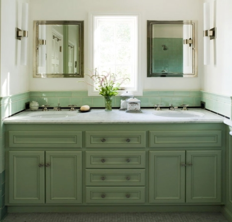 Corinne gail interior design Paint bathroom cabinets