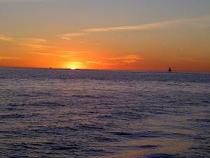 Out Sailing at Sunset!