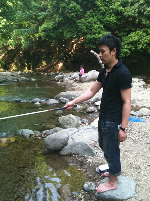 Marketing japan nature hideaway just 1 5 hours from tokyo for Trout farm fishing near me