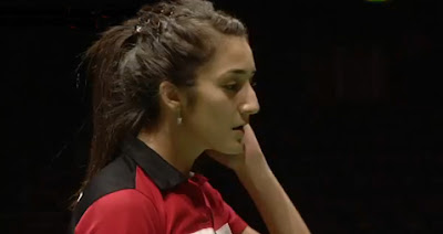 Turkish badminton star