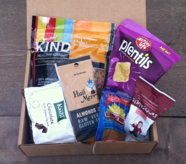Bestowed Box October 2012 Review - Monthly Healthy Snack Subscription Boxes - Plus Giveaway!