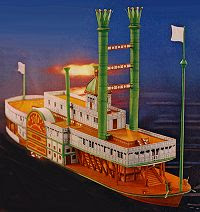 Mississippi Steamboat Sultana Papercraft