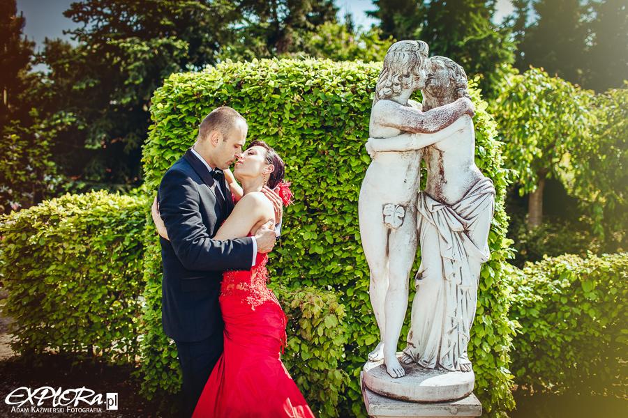 Katarzyna i Mirosław - plener ślubny