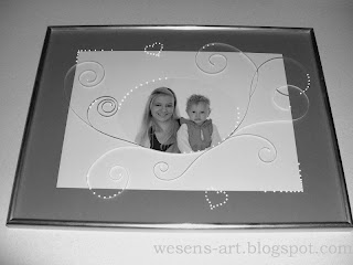 Frame with Quilling   wesens-art.blogspot.com