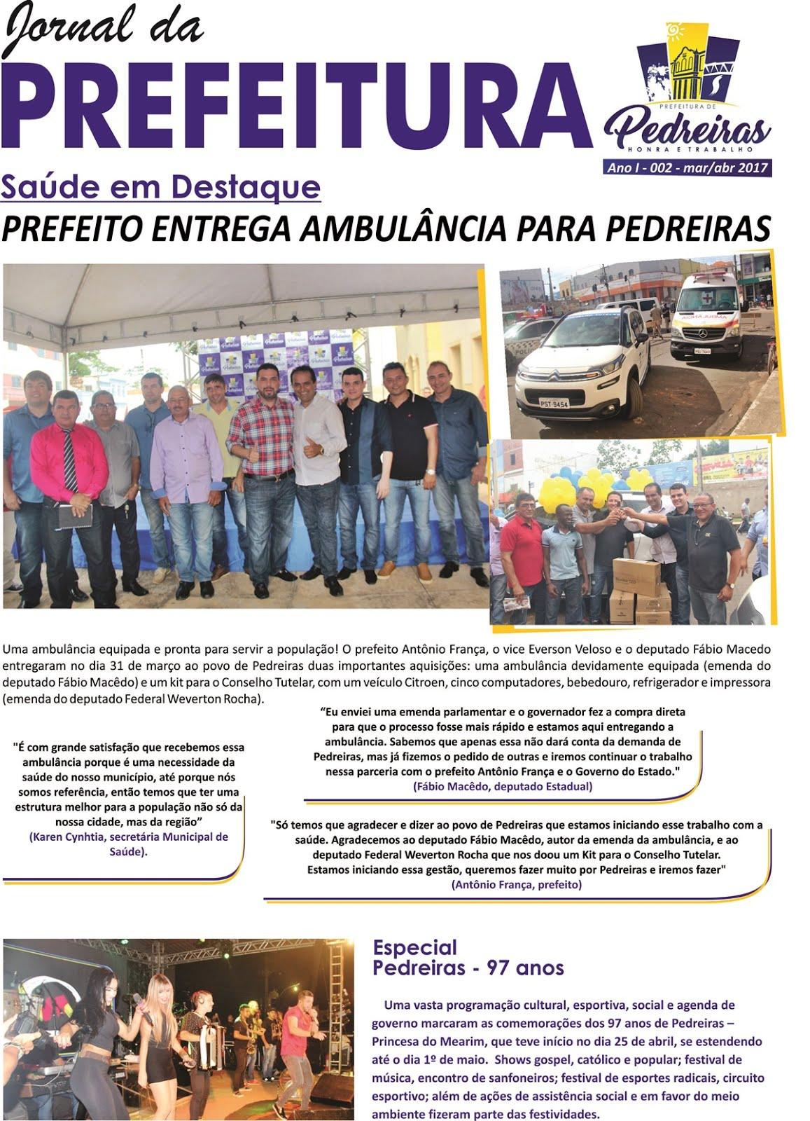 JORNAL DA PREFEITURA 002