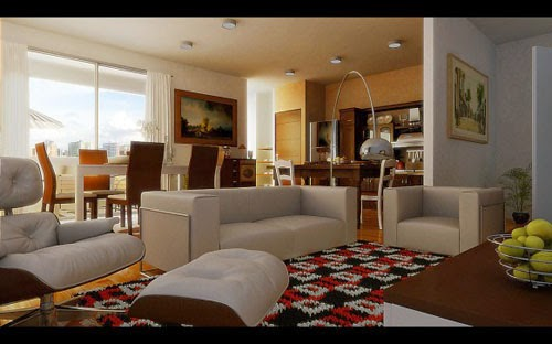 Charming Modern Living and Dining Room Combo Design IdeasCharming Modern Living and Dining Room Combo Design Ideas
